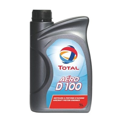 Total Aero D 100 Dispersive Monograde Mineral Piston Engine Oil 1Lt Can J-1899 SAE Grade 50