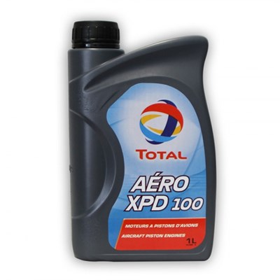 Total Aero XPD 100 Dispersive Monograde Mineral Piston Engine Oil SAE J-1899 in various sizes
