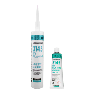 DOWSIL™/Dow Corning® 3145 RTV available in various sizes and colours