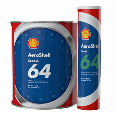 Aeroshell Grease 64 (formerly AeroShell 33MS) Available in various sizes