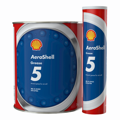 Aeroshell Grease 5 available in various sizes