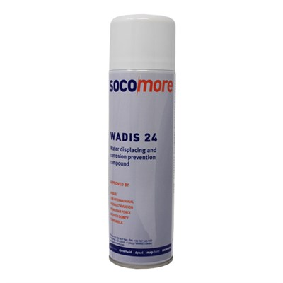 Socomore Wadis 24 Corrosion Preventative Compound 400ml Aerosol