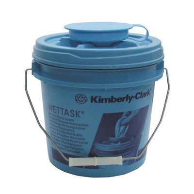 Wettask* Dispensing Bucket - Self Closing Lid
