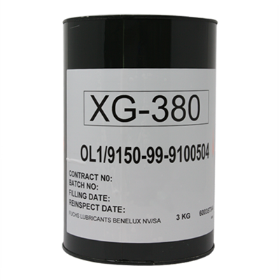 XG-380 Grease 3Kg Can *DEF STAN 91-111/1