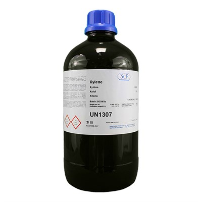 Xylene X020 CP Thinner 2.5Lt Glass Bottle
