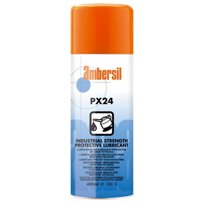 Ambersil PX24 Industrial Strength Protective Lubricant 400ml Aerosol *DEF STAN 68-10/5
