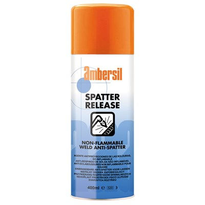 Ambersil Spatter Release Non-Flammable Solvent Weld Anti-Spatter 400gm Aerosol