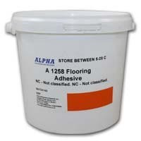 Alpha A1258 PVC Flooring Adhesive in various sizes