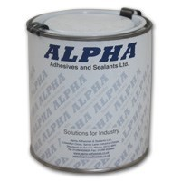 Alpha S1358TF High Heat Resistance Brushable Adhesive (Toluene Free) 1Lt Can