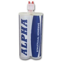 Alpha 5310 2 Part Extended Open Time Structural Acrylic 400ml Twin Tube