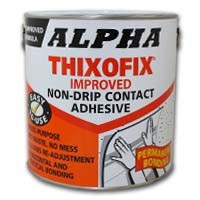 Alpha Thixofix Easy Spread Contact Adhesive 2.5Lt Can