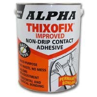 Alpha Thixofix Easy Spread Contact Adhesive 5Lt Can