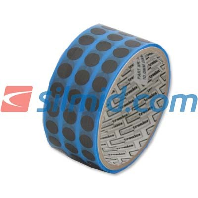 adhere INT630 Anti Static Conformal Coating Masking Tape 10mm Dots 1000 Per Roll
