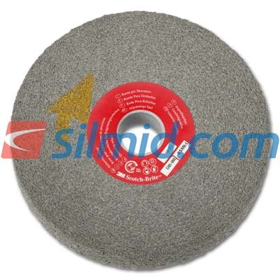 3M Scotch-Brite EXL Deburring Wheel DB-WL 8SMED Grade Dark Grey 152mm x 25.4mm