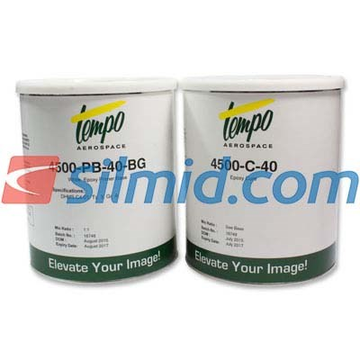 Tempo 4500-PB-40 White Epoxy 2USG Kit DHMS.C4.01 Type 3