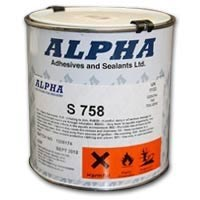 Alpha S758 High Viscosity Brushable Adhesive 1Lt Can