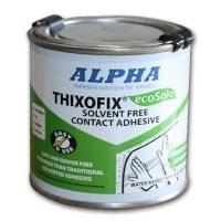 Alpha Thixofix Eco A1877 Brushable Contact Adhesive 250ml Can