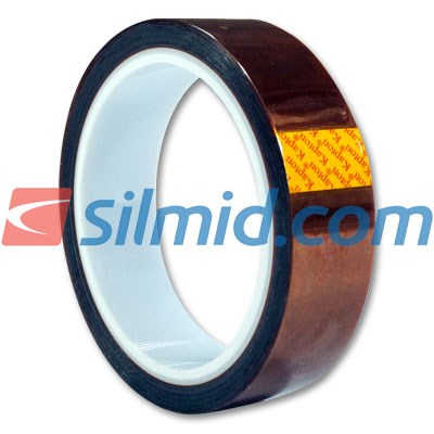 Kapton Polymide Tape 0.025mm Thick 25.4mm x 33Mtr