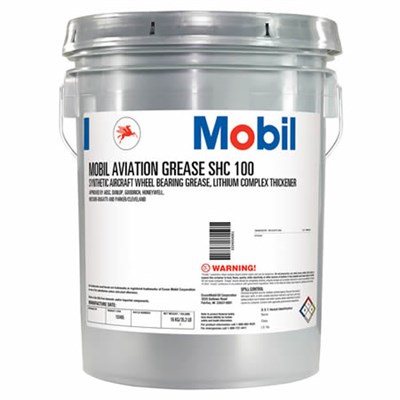 Mobil SHC 100 Synthetic Aviation Grease 16Kg Drum