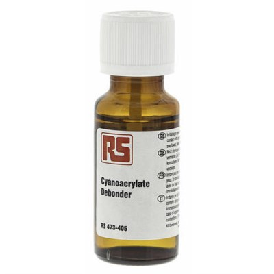 RS Cyanoacrylate Debonder 20ml Bottle