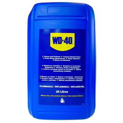 WD-40 Multi-Purpose Lubricant 25Lt Drum