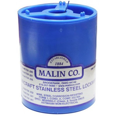 Malin Stainless Steel Aerospace Locking Wire 0.041