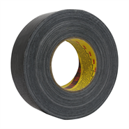 3M 3998 Black Waterproof Cloth Tape 50mm x 50Mt Roll