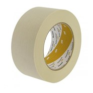 3M 1104 Low Tack Masking Tape Yellow 24mm x 50m Roll