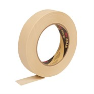 3M 201E Premium General Purpose Masking Tape Beige 24mm x 50Mt Roll