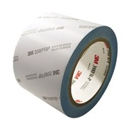 3M 398-FR Flame Retardant Glass Cloth Tape 4in x 36yd Roll