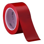 3M 471 Vinyl Tape Red 2in x 36yd Roll