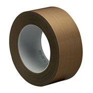3M 5453 PTFE Glass Cloth Tape 1in x 36Yd Roll