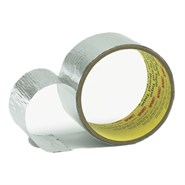 3M 431 Aluminium Foil Tape 75mm x 55Mt Roll