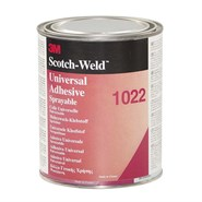 3M Scotch-Grip 1022 Universal Industrial Adhesive 1Lt Can
