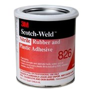 3M Scotch-Weld 826 Nitrile Rubber and Plastic Adhesive 1USQ Can