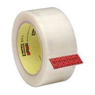 3M Scotch Box Sealing Tape 371 Transparent 38mm x 66Mt Roll