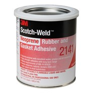 3M Scotch-Weld 2141 Rubber and Gasket Adhesive 0.9Lt Tin