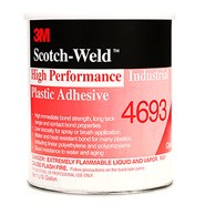 3M Scotch-Weld 4693 High Performance Industrial Plastic Adhesive 1USQ Can