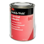 3M Scotch-Weld 847 Rubber and Gasket Adhesive 1Lt Can