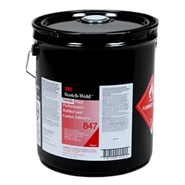 3M Scotch-Weld 847 Rubber and Gasket Adhesive 5Lt Can