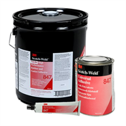 3M Scotch-Weld EC-847 Rubber and Gasket Adhesive in various sizes