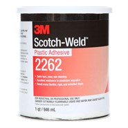 3M Scotch-Weld EC-2262 Plastic Adhesive 1USQ Can