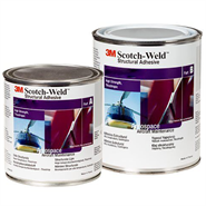 3M Scotch-Weld EC-9323-150 B/A Epoxy Adhesive in various sizes