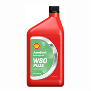 Aeroshell Piston Oil W80+ *J-1899 SAE Grade 40 available in various sizes