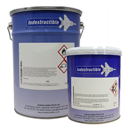 Indestructible Paint IP9183-R1 IPCOTE Heat Resistant Aluminium Coating in various sizes