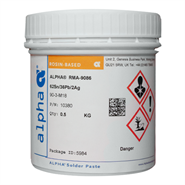 Alpha Opti Line 9086 No Clean Solder Paste 500gm 62/36/2 (Fridge Storage 2'°C-5'°C)
