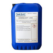 Dasic Aerokleen A510 Water Based Aircraft Exterior Cleaner 25Lt Drum *Boeing D6-17487 *AMS 1526C