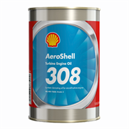 AeroShell Turbine Engine Oil 308 1USQ Can *MIL-PRF-7808L Grade 3