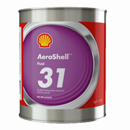 Aeroshell Fluid 31 Aircraft Hydraulic Fluid 1USG Can *MIL-PRF-83282D *OX-19