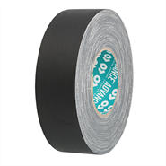 Advance Tapes AT160 Black Waterproof Cloth Tape 50mm x 50Mt Roll